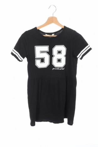 Детска рокля H&M, Размер 10-11y/ 146-152 см, Цвят Черен, Памук, Цена 30,24лв.