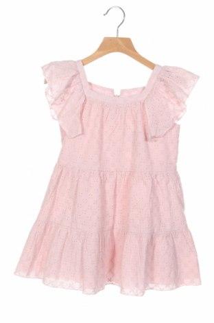Детска рокля Lola Palacios, Размер 6-7y/ 122-128 см, Цвят Розов, Памук, Цена 33,12лв.