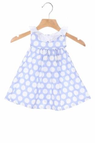 Детска рокля Lola Palacios, Размер 6-9m/ 68-74 см, Цвят Син, Памук, Цена 33,12лв.