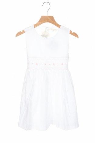 Детска рокля Lola Palacios, Размер 8-9y/ 134-140 см, Цвят Бял, Памук, Цена 33,12лв.