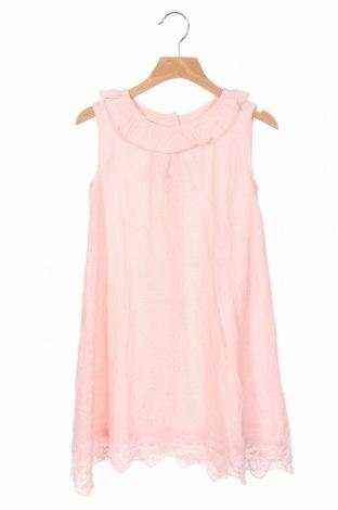 Детска рокля Lola Palacios, Размер 8-9y/ 134-140 см, Цвят Розов, Памук, Цена 31,68лв.