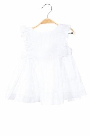 Rochie de copii Lola Palacios, Mărime 3-6m/ 62-68 cm, Culoare Alb, Bumbac, Preț 98,52 Lei