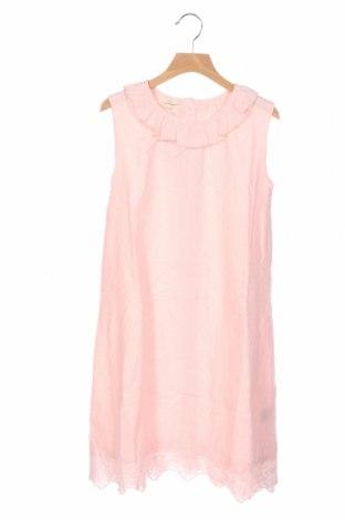 Детска рокля Lola Palacios, Размер 12-13y/ 158-164 см, Цвят Розов, Памук, Цена 33,12лв.