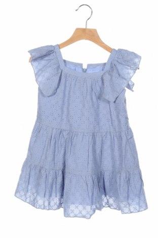 Rochie de copii Lola Palacios, Mărime 3-4y/ 104-110 cm, Culoare Albastru, Bumbac, Preț 87,16 Lei