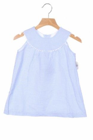 Rochie de copii Lola Palacios, Mărime 4-5y/ 110-116 cm, Culoare Albastru, Bumbac, Preț 87,16 Lei