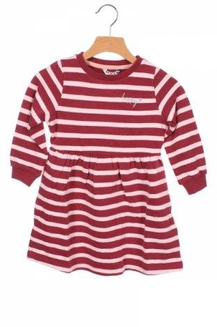 Детска рокля Review, Размер 18-24m/ 86-98 см, Цвят Розов, 100% памук, Цена 49,00лв.