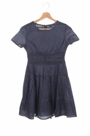 Παιδικό φόρεμα Sisley, Μέγεθος 10-11y/ 146-152 εκ., Χρώμα Μπλέ, 100% βαμβάκι, Τιμή 3,56€