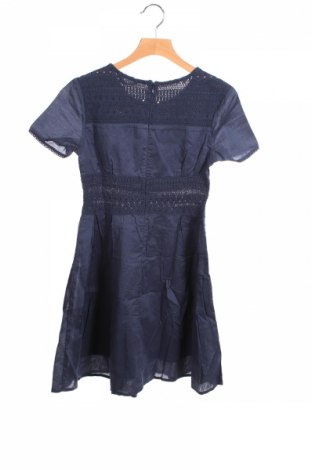 Детска рокля Sisley, Размер 8-9y/ 134-140 см, Цвят Син, 100% памук, Цена 3,45лв.