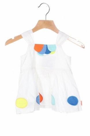 Rochie de copii Tuc Tuc, Mărime 9-12m/ 74-80 cm, Culoare Alb, Bumbac, Preț 79,58 Lei