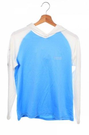 Детска спортна блуза Kathmandu, Размер 14-15y/ 168-170 см, Цвят Син, 93% полиестер, 7% еластан, Цена 3,94лв.