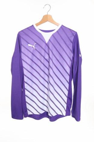 Детска спортна блуза PUMA, Размер 15-18y/ 170-176 см, Цвят Лилав, Полиестер, Цена 6,04лв.