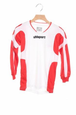 Детска спортна блуза Uhlsport, Размер 5-6y/ 116-122 см, Цвят Бял, Полиестер, Цена 7,80лв.