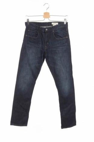Blugi de copii H&M, Mărime 14-15y/ 168-170 cm, Culoare Albastru, 98% bumbac, 2% elastan, Preț 68,24 Lei