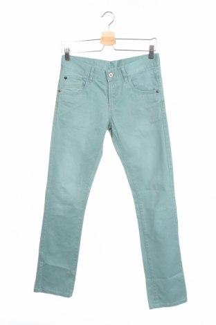 Dziecięce jeansy Here & Now, Rozmiar 13-14y/ 164-168 cm, Kolor Zielony, Bawełna, Cena 48,60zł