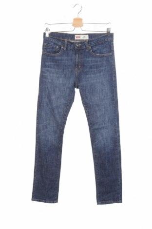 Blugi de copii Levi's, Mărime 15-18y/ 170-176 cm, Culoare Albastru, 98% bumbac, 2% elastan, Preț 155,98 Lei
