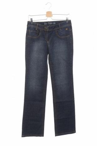 Παιδικά τζίν Tom Tailor, Μέγεθος 15-18y/ 170-176 εκ., Χρώμα Μπλέ, 99% βαμβάκι, 1% ελαστάνη, Τιμή 18,95€
