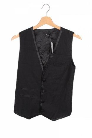 Dětská vesta  Bardot, Rozměr 12-13y/ 158-164 cm, Barva Černá, 97% polyester, 3% elastan, Cena  333,00Kč