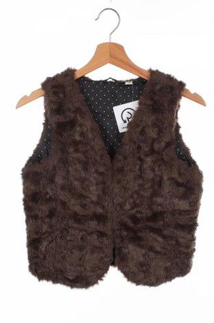 Dětská vesta  Uniqlo, Rozměr 11-12y/ 152-158 cm, Barva Hnědá, 72%acryl, 28% polyester, Cena  402,00Kč