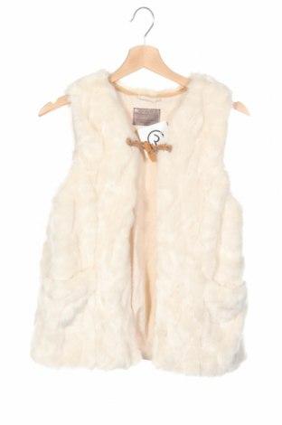 Dětská vesta  Zara, Rozměr 13-14y/ 164-168 cm, Barva Krémová, 77%acryl, 23% polyester, Cena  563,00Kč