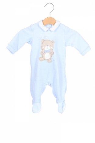 Salopetă pentru copii. Chicco, Mărime 0-1m/ 50 cm, Culoare Albastru, 75% bumbac, 25% poliester, Preț 102,63 Lei