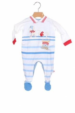 Salopetă pentru copii., Mărime 2-3m/ 56-62 cm, Culoare Multicolor, 95% bumbac, 5% elastan, Preț 62,63 Lei