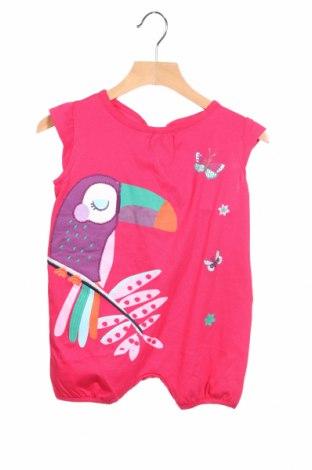 Salopetă pentru copii. Du Parell Au Meme, Mărime 12-18m/ 80-86 cm, Culoare Roz, Bumbac, Preț 58,03 Lei