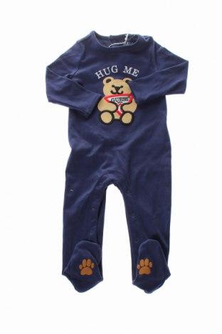 Salopetă pentru copii. Guess, Mărime 6-9m/ 68-74 cm, Culoare Albastru, Bumbac, Preț 175,00 Lei