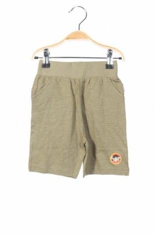 Pantaloni scurți de copii Gelati, Mărime 12-18m/ 80-86 cm, Culoare Verde, 100% bumbac, Preț 53,05 Lei