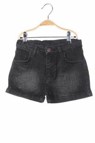 Pantaloni scurți de copii Mushi, Mărime 9-10y/ 140-146 cm, Culoare Negru, 96% bumbac, 4% elastan, Preț 60,63 Lei