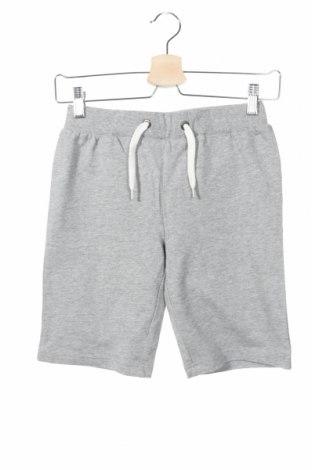 Pantaloni scurți de copii Name It, Mărime 8-9y/ 134-140 cm, Culoare Gri, 100% bumbac, Preț 60,63 Lei