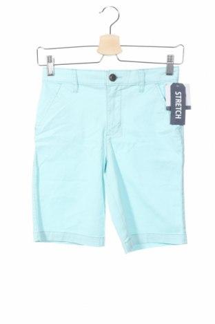 Pantaloni scurți de copii Oshkosh, Mărime 7-8y/ 128-134 cm, Culoare Albastru, 98% bumbac, 2% elastan, Preț 49,26 Lei