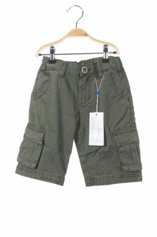 Pantaloni scurți de copii Oviesse, Mărime 4-5y/ 110-116 cm, Culoare Verde, Bumbac, Preț 60,63 Lei
