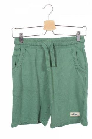 Pantaloni scurți de copii Review, Mărime 11-12y/ 152-158 cm, Culoare Verde, Bumbac, Preț 60,63 Lei