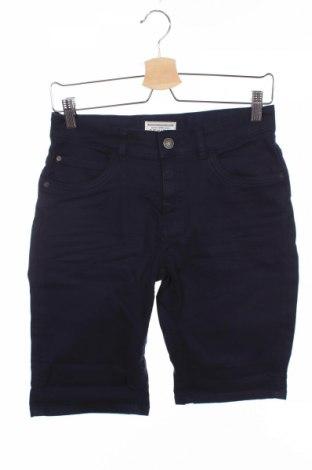 Pantaloni scurți de copii Review, Mărime 14-15y/ 168-170 cm, Culoare Albastru, 97% bumbac, 3% elastan, Preț 60,63 Lei