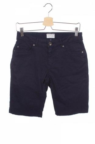 Pantaloni scurți de copii Review, Mărime 12-13y/ 158-164 cm, Culoare Albastru, 98% bumbac, 2% elastan, Preț 68,21 Lei