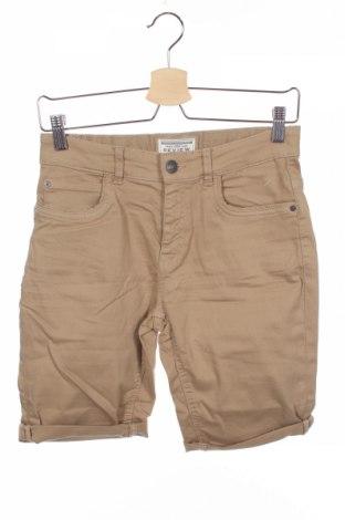 Pantaloni scurți de copii Review, Mărime 12-13y/ 158-164 cm, Culoare Bej, 97% bumbac, 3% elastan, Preț 60,63 Lei