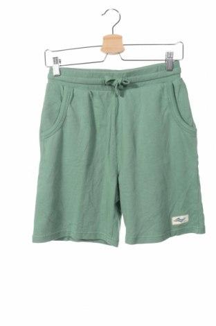Pantaloni scurți de copii Review, Mărime 14-15y/ 168-170 cm, Culoare Verde, Bumbac, Preț 53,05 Lei