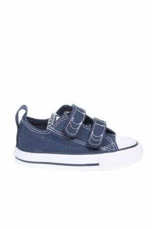 Încălțăminte pentru copii Converse, Mărime 20, Culoare Albastru, Textil, Preț 207,89 Lei