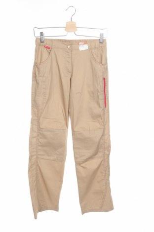 Детски панталон Oxylane, Размер 13-14y/ 164-168 см, Цвят Бежов, 75% памук, 25% полиестер, Цена 8,06лв.
