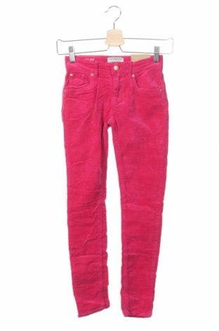 Dziecięce sztruksy Review, Rozmiar 8-9y/ 134-140 cm, Kolor Różowy, 98% bawełna, 2% elastyna, Cena 42,90zł