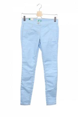 Παιδικό παντελόνι United Colors Of Benetton, Μέγεθος 12-13y/ 158-164 εκ., Χρώμα Μπλέ, 67% βαμβάκι, 29% πολυεστέρας, 4% ελαστάνη, Τιμή 18,14€