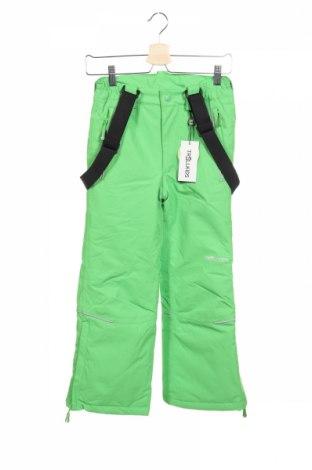 Детски панталон за зимни спортове Trollkids, Размер 8-9y/ 134-140 см, Цвят Зелен, Полиестер, Цена 57,85лв.