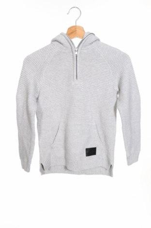 Детски пуловер H&M, Размер 6-7y/ 122-128 см, Цвят Сив, Памук, Цена 35,88лв.