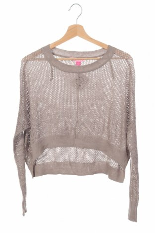 Детски пуловер Pink Sugar, Размер 11-12y/ 152-158 см, Цвят Кафяв, Памук, Цена 21,92лв.
