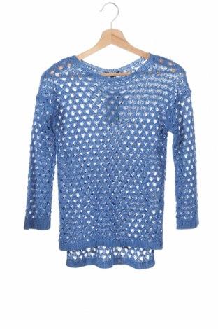 Детски пуловер Sisley, Размер 12-13y/ 158-164 см, Цвят Син, 70% акрил, 30% полиамид, Цена 40,02лв.