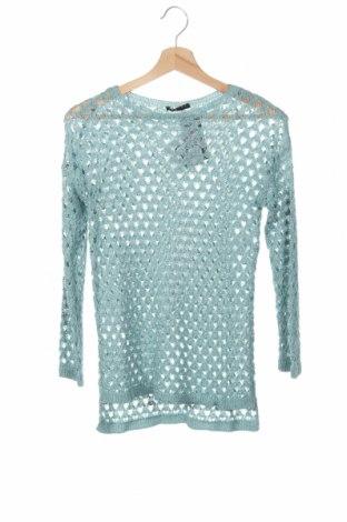 Детски пуловер Sisley, Размер 15-18y/ 170-176 см, Цвят Зелен, 70% акрил, 30% полиамид, Цена 40,02лв.