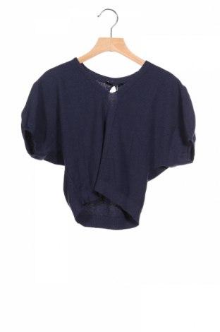 Dětský svetr  Sisley, Rozměr 7-8y/ 128-134 cm, Barva Modrá, 50% bavlna, 50%acryl, Cena  471,00Kč