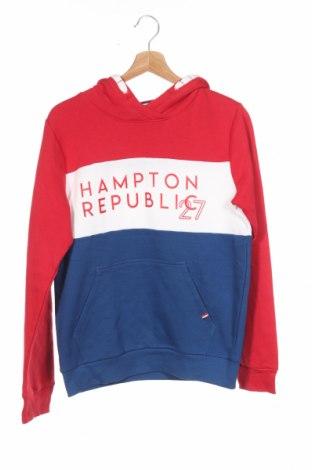 Dětská mikina  Hampton Republic, Rozměr 14-15y/ 168-170 cm, Barva Vícebarevné, 80% polyurethane, 20% polyester, Cena  360,00Kč