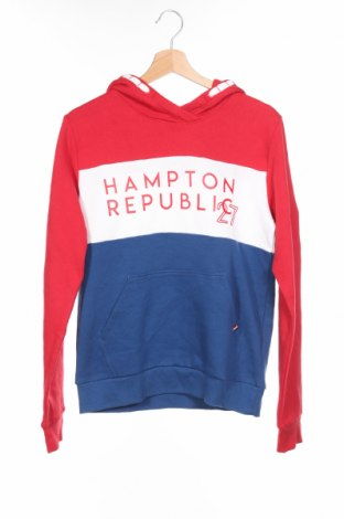 Детски суичър Hampton Republic, Размер 14-15y/ 168-170 см, Цвят Многоцветен, 80% памук, 20% полиестер, Цена 8,66лв.