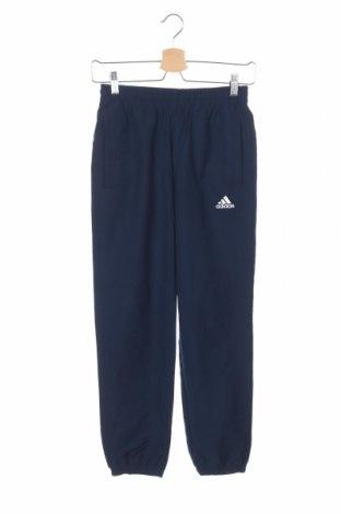Παιδική κάτω φόρμα Adidas, Μέγεθος 11-12y/ 152-158 εκ., Χρώμα Μπλέ, Πολυεστέρας, Τιμή 15,43€